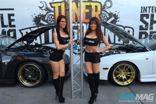 PASMAG Tuner Battlegrounds 2014 Battle for SEMA Tiffany Mikayla Tracy Nova Models