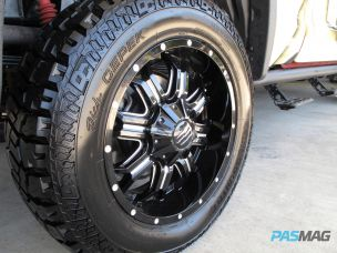 A.R.E. Tundra Dick Cepek Tires TIS Monster Energy Wheels