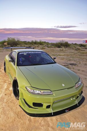 PASMAG Billy Vaughn 1999 Nissan Silvia S15 SR20DET Fast and Furious CWest Widebody