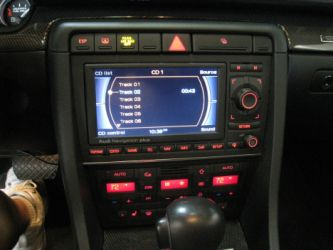 So, to see just how the system installs and tunes, I called Rick Jones, an old buddy of JBL_MS-8_DSP_3_optmine who just happens to own Creative Audio Werks, (www.creativeaudiowerks.com) a high end custom installation shop in Phoenix, AZ. They also had a great car to try the MS-8 out in, a 2006 Audi S4 with the top of the line Audi/Bose system.