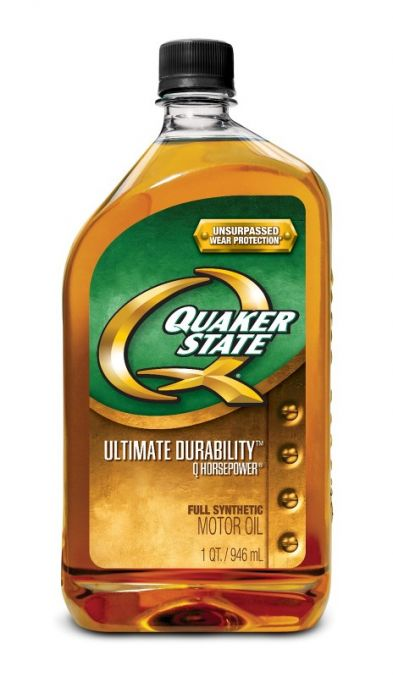 Quaker State has formulated its motor oils to meet the toughest industry tests.  Quaker State Advanced Durability that provides 2x the wear protection of the standard industry test. Enhanced Durability, that provides protection to those vehicles that do a lot of stop and go driving or towing, such as the 4x4, SUV & Truck motor oil and Quaker State's very best Ultimate Durability Q-Horsepower Full Synthetic.
