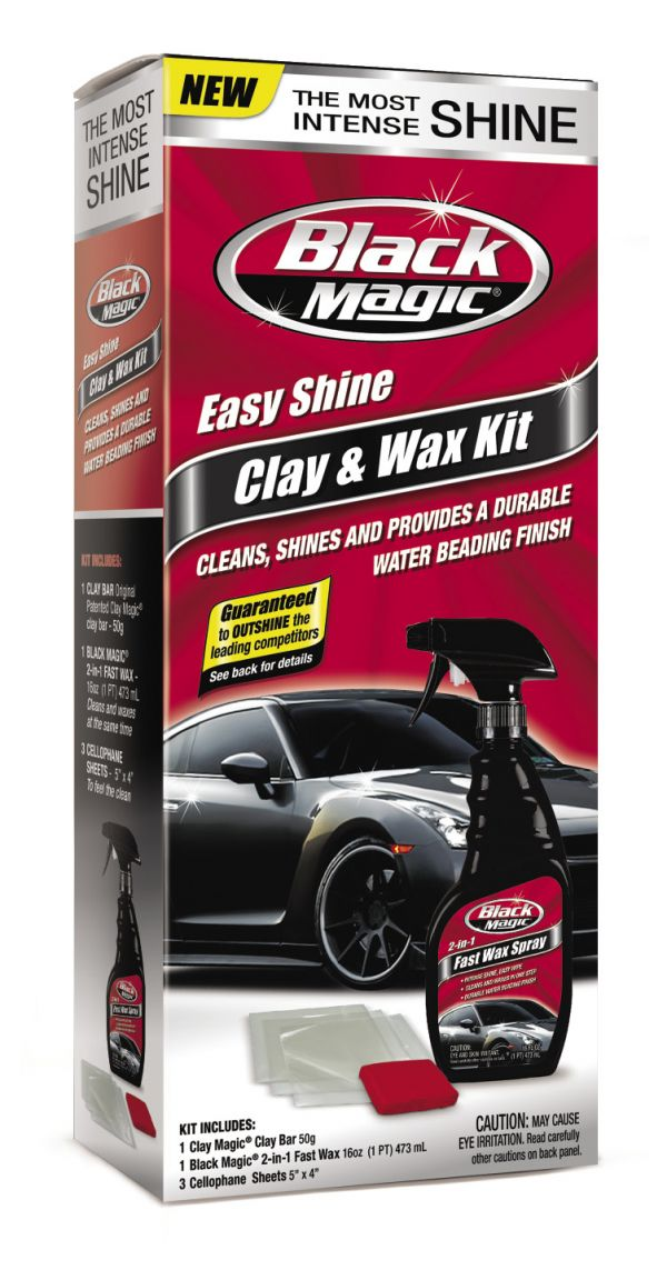 Black Magic Easy Shine Clay & Wax Kit