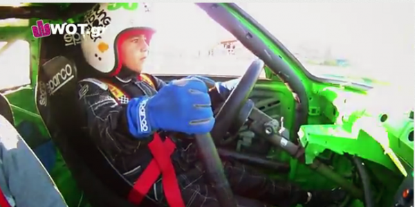 Stavros Grillis, The World's Youngest Drifter!