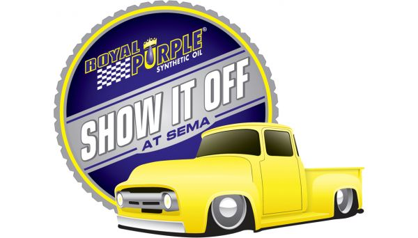 Show It Off at SEMA Truck Logo