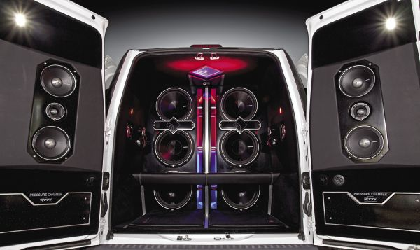 Mini Soundlab Goes Maxi: 2012 Ford Tansit Connect