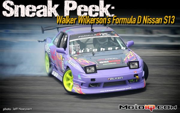 Moto IQ: The Kid Rocks! A Look Inside Walker Wilkerson's Nissan S13