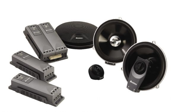With a power rating of 125 watts, to make sure the system can handle all the abuse it will get on a daily basis, Boston Acoustics invented a technology called RadialVent cooling (United States Patent Number: 6,430,300) which relies on integrated vents in the chassis of the woofer and the woofer's own pistonic action to re-circulate cool air around the voice coil and over the chassis.