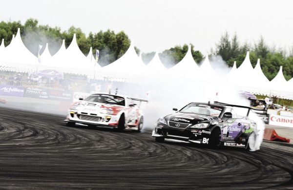 Formula Drift In-Depth: Achilles Tire Team Profile