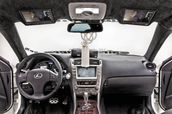 Royal Flush: 2008 Lexus IS 350