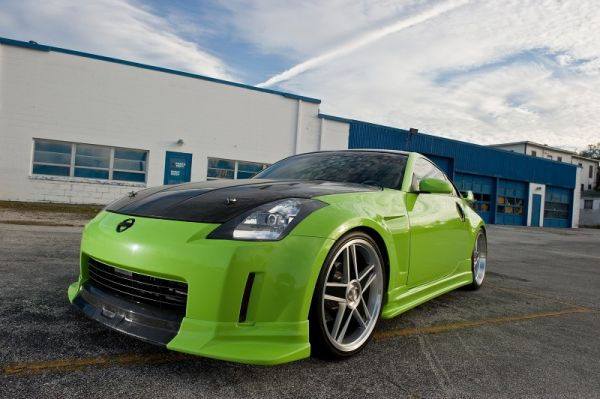 """I have always loved modified cars,"" said owner Mike Foxwell. ""When I first saw the 350Z I know I had to get one. It took a while for me to get it, but finally pulled the trigger in 2006. It started off slowly and then to mod bug bit, and bit hard. I was only going to do wheels and a spoiler, but then you find it hard to stop. I wanted something that I liked and that was different from everyone else's 350Zs with a blend of sound and style."""