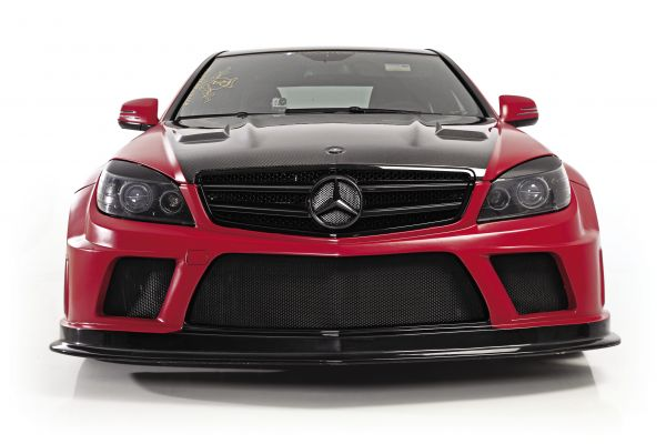 Full Metal Madness: 2009 Mercedes-Benz C 63 AMG