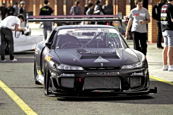 Thunder from Down Under: Nissan 180SX X 2JZ