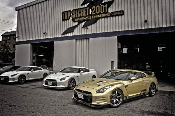 Secret Weapon: Top Secret's 2008 Nissan Skyline R35 GTR