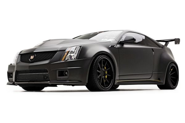 Raw Power: 2011 Cadillac CS-V Coupe