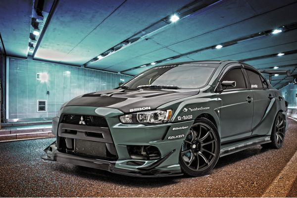 Lethal Weapon: 2008 Mitsubishi Lancer Evolution GSR