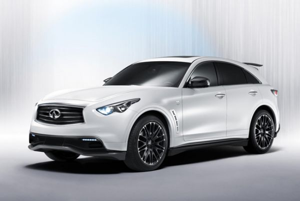 Infiniti at the 2012 Geneva Motor Show