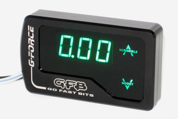The Go Fast Bits G-Force is an Electronic Boost Controller aimed directly at the serious enthusiast with all the stuff you need, but without the extra (read: costly) stuff you don't.