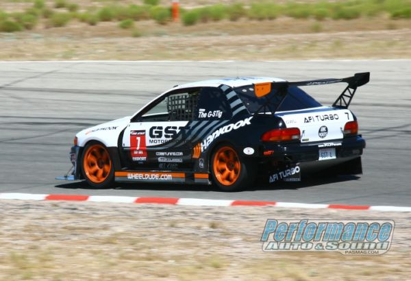 The mystery driver only known as the G-Stig drove the GST Motorsports Subaru Impreza L to another overall event victory running a 1:20.759 but talking with the team, the car had some issues and definitely has more in it, but they will have to wait another year to have another go at the current record.