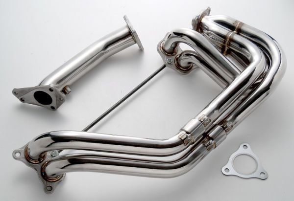 Prosport (yes, the gauge company) has branched out and built a cost-effective header for the WRX. With an MSRP of only $599 these headers are priced to move. So much so that Prosport increased the stock on hand for 2010 because several times in 2009 it was sold out between production runs. The mission in 2010 is to fill all of the orders with WRX owners looking to crank some more ponies out of their EJ20-powered WRX.