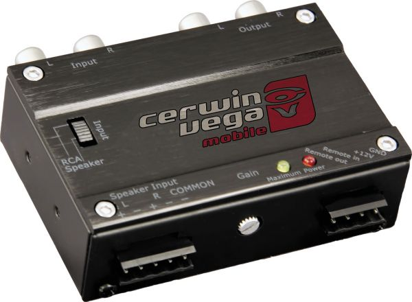 Cerwin-Vega Output Converter and Driver