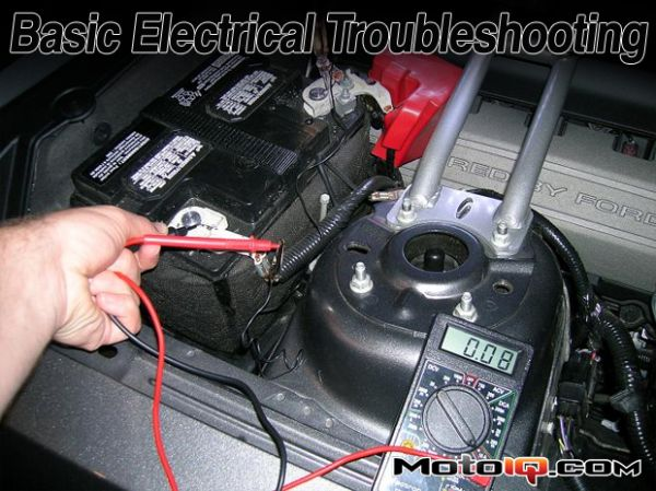 Moto IQ: Basic Electrical Troubleshooting