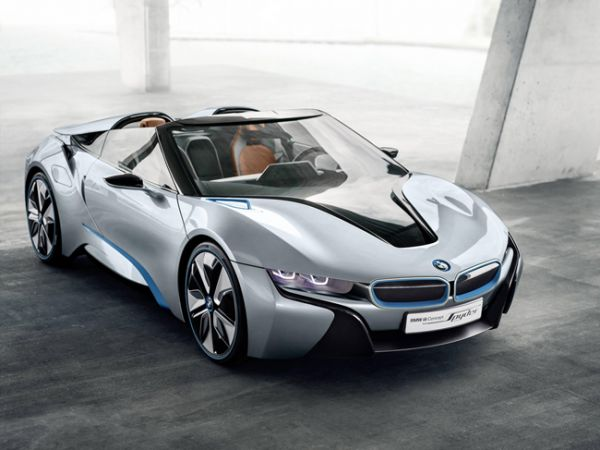 The New BMW i8 Concept Spyder