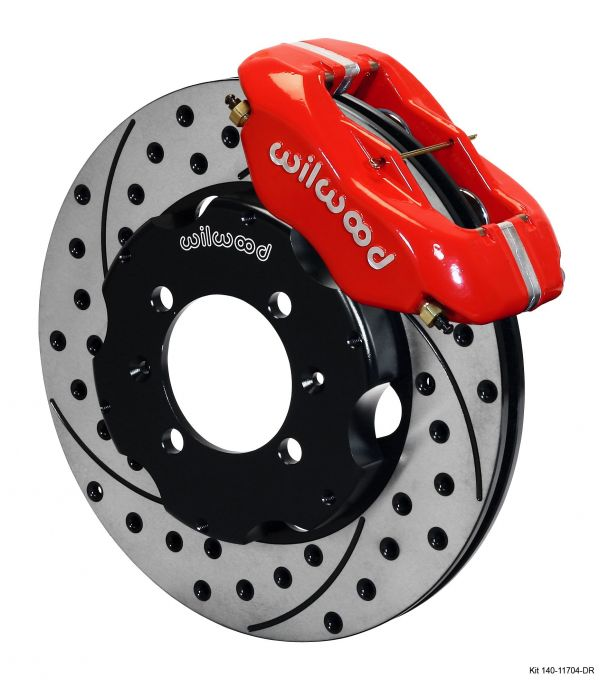Wilwood's new brake kit for the 1995 through 2005 Mazda Miata sports car