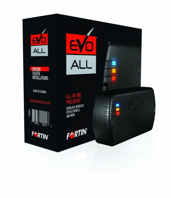 The Fortin Electronics Systems' EVO-ALL New Remote Car Starter Integrated Technology