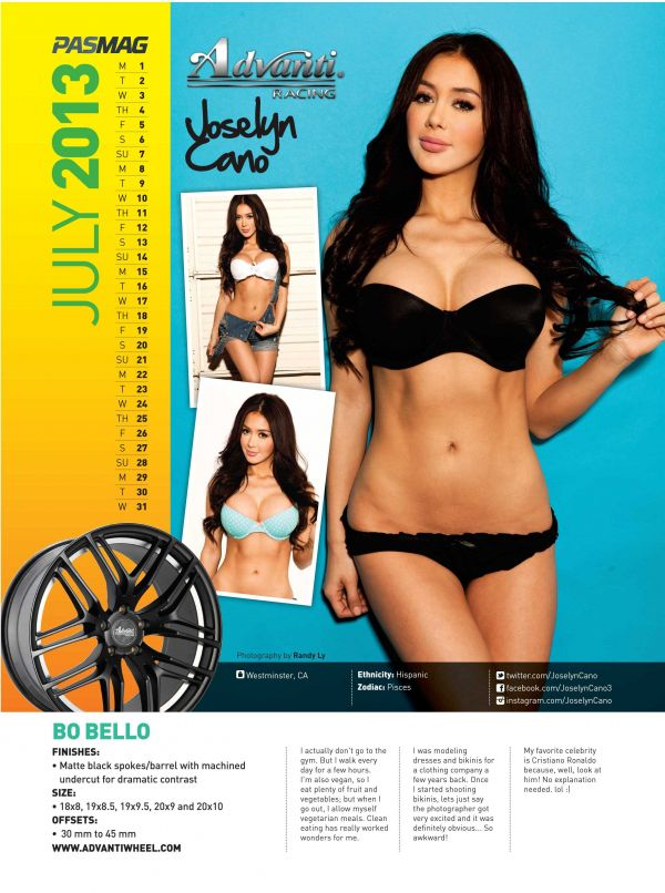 Joselyn Cano: July 2013