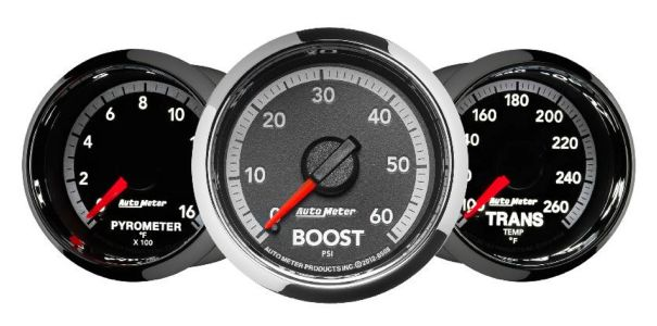 Auto Meter 4th Gen Ram Factory Match Gauges