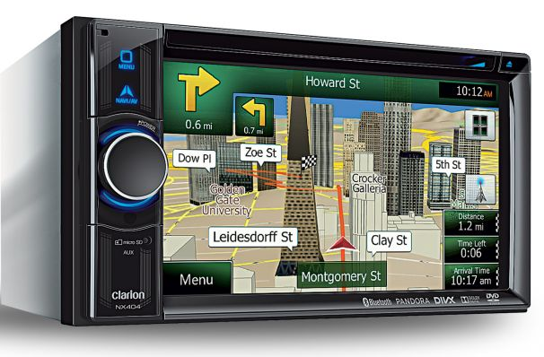 Clarion NX404 Navigation Receiver Review