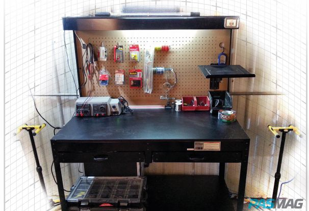 Cabe's Corner: Build a Workshop on a Budget