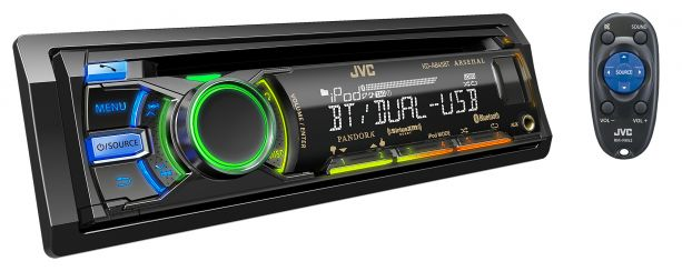 JVC KD-A845BT CD Receiver