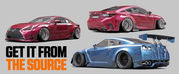 Get It From The Source: Rocket Bunny (GReddy Distribution)