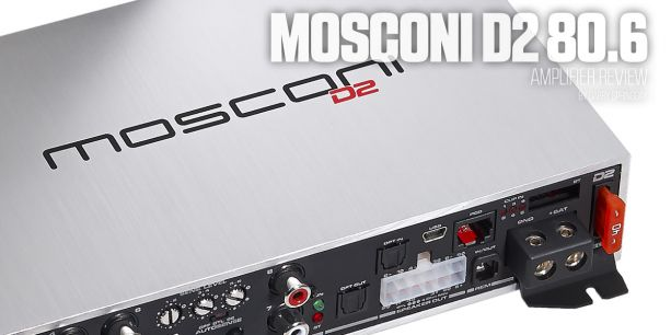 Mosconi D2 806 Amplifier Test Report lead