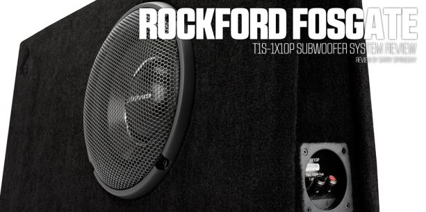 PASMAG Rockford Fosgate T1S1X10P Subwoofer System Review 7