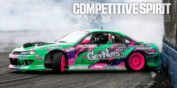 Alec Hohnadell 1995 Nissan 240sx S14 PASMAG canter Lead