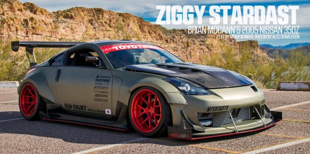 Brian McCann 2005 Nissan 350Z Tuner Battlegrounds Lead