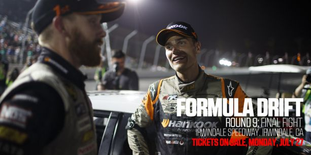 PASMAG Formula Drift Round 9 Final Fight Ticket Sale July 27 2015
