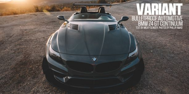 Bulletproof Automotive BMW Z4 GT Continuum PASMAG Lead