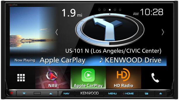 Kenwood DNX893S Multimedia Receiver