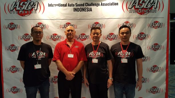 IASCA Indonedia Training Staff Moe Sabourin
