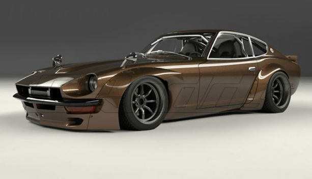 GReddy Pandem 240z Widebody Aeo Kit