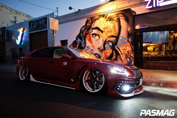 The Godfather of VIP - Takahuna Jo's 2008 Lexus LS460L
