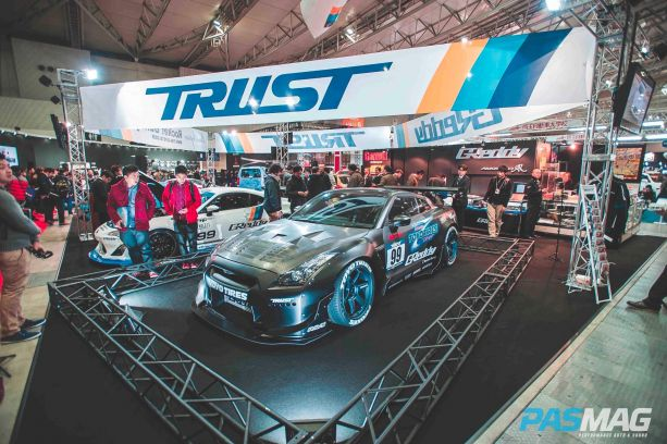 Trust's 1,000 hp, R34 subframed GT-r for the 2014 D1 GP season.