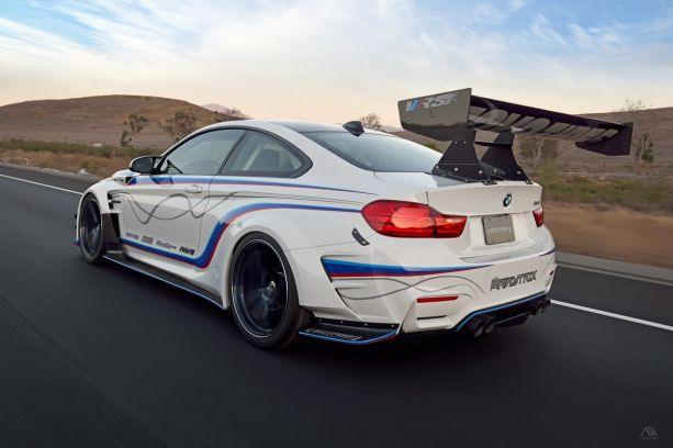 BP Auto F82 M4 VRS Wide Body Kit