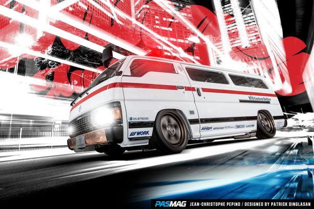 PASMAG Tuning Essentials Japan Book WIZ Customs Caravan 1