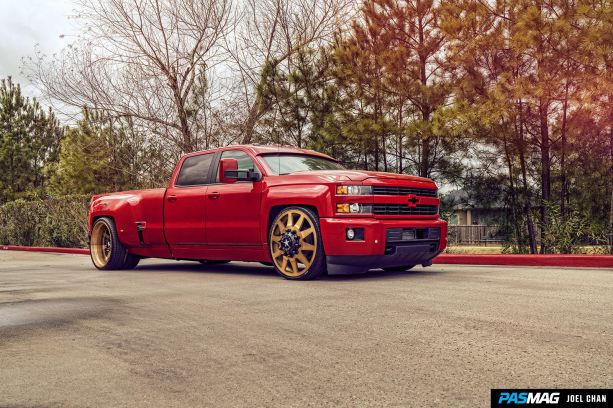 American Force Wheels 2016 Chevrolet Silverado 3500HD LTZ 33