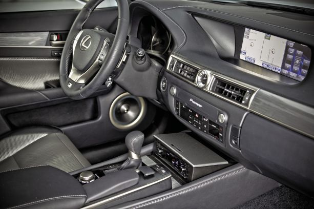 New Breed: Lexus x Five Axis' 2012 Lexus GS