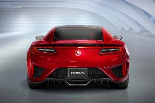 PASMAG Trending 2016 Acura NSX Rebirth of an Icon rear